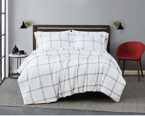 Kids Urban Covers Gray 2 PC Twin XL Comforter Set