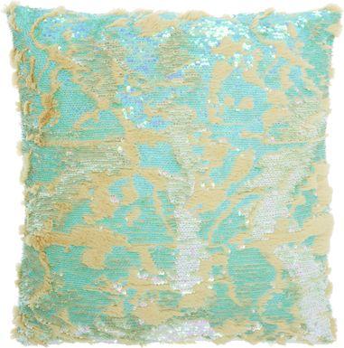 Kids Vanora Green Accent Pillow