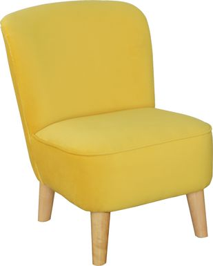 Kids Vonny Gold Accent Chair