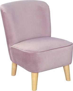 Kids Vonny Lilac Accent Chair