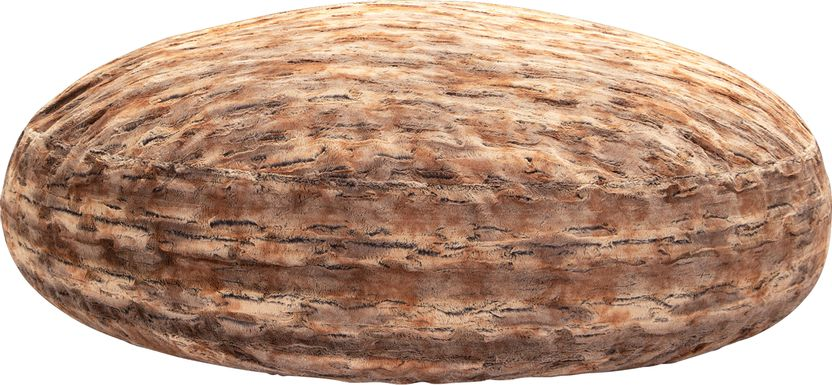 Kids Winter Dream Ginger Large Faux Fur Bean Bag