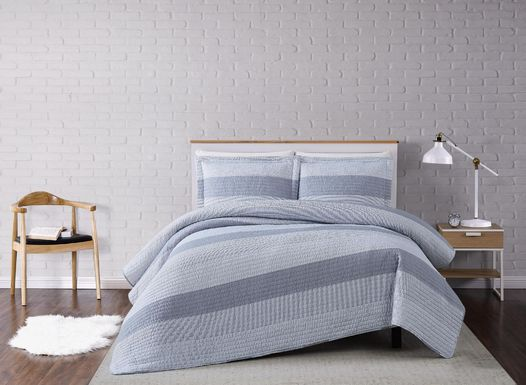 Kids Winterlake Gray 2 Pc Twin Comforter Set