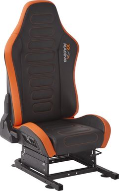 Kids Zalman Black/Orange Gaming Chair