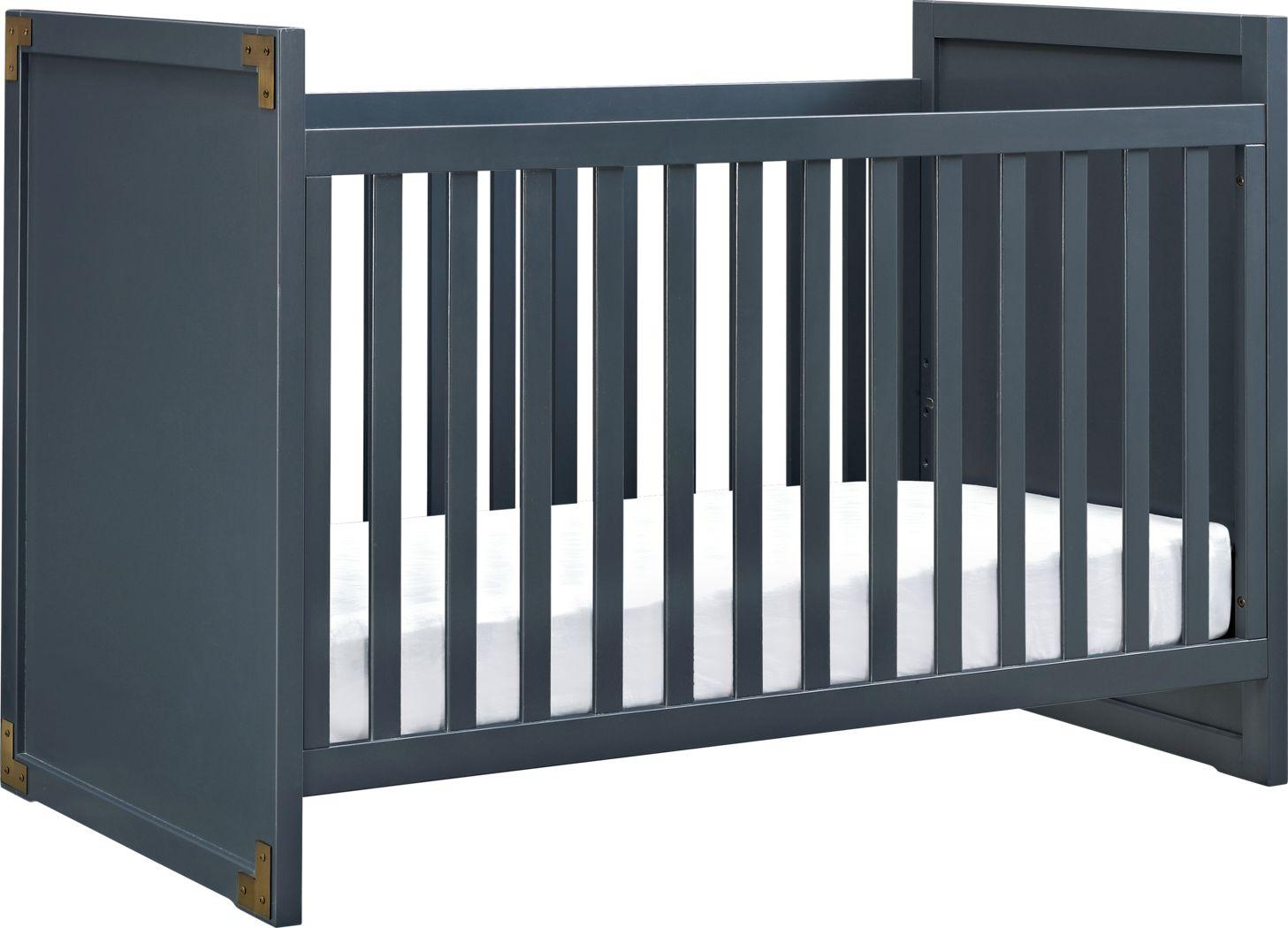 Kiernan Blue Crib