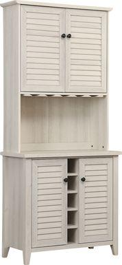 Kilbourn White Bar Cabinet