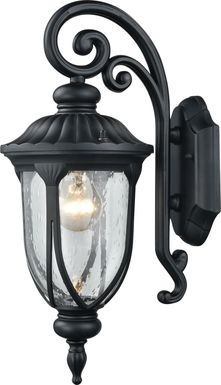 Killian Black Outdoor Wall Sconce