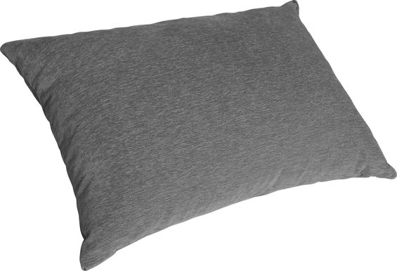 Kids Kimmy Gray Bean Bag Chair and Floor Pillow