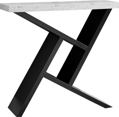 Kinkaide Black Console Table