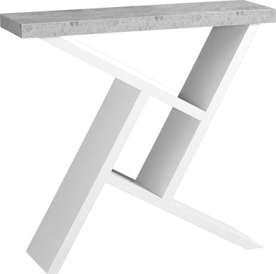 Kinkaide White Console Table