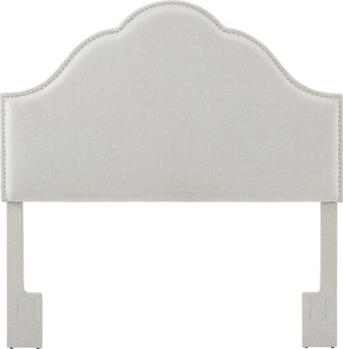 Kirksey Light Beige King Upholstered Headboard
