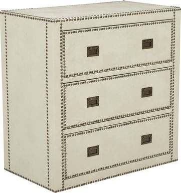 Kisner Cream Accent Cabinet
