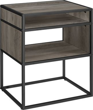 Kittanset Gray End Table