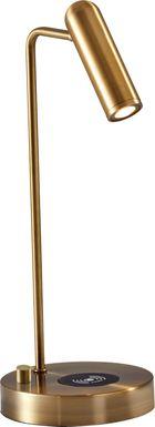 Knokel Brass Table Lamp