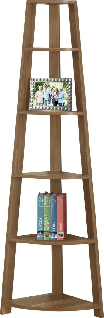 Korgan Walnut Bookcase