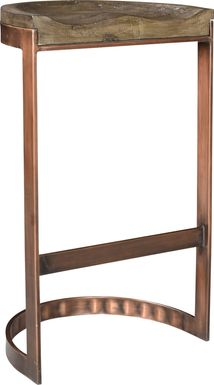 Kotor Brown Bar Height Stool