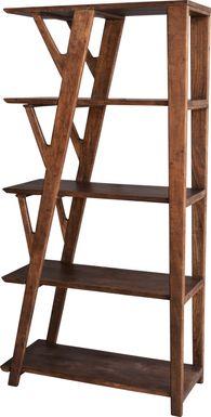 Kousa Brown Bookcase
