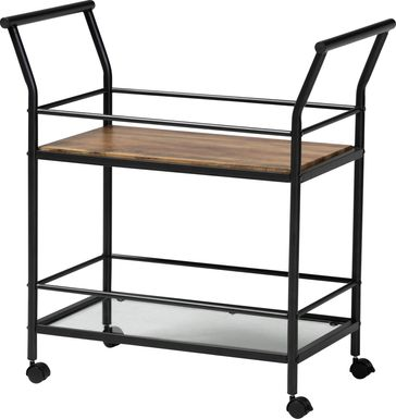 Kraeft Black Bar Cart