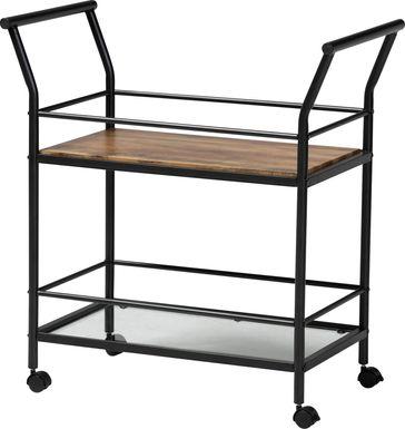Kraeft Black Bar Cart