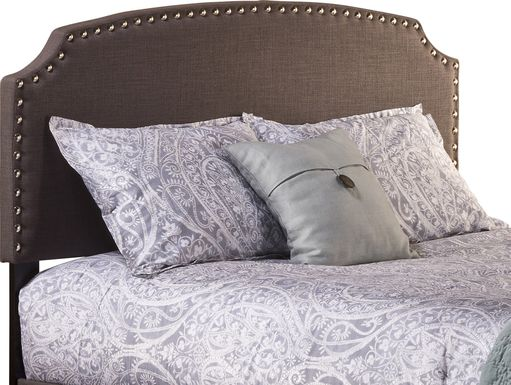 Krisron Dark Gray Full Upholstered Headboard