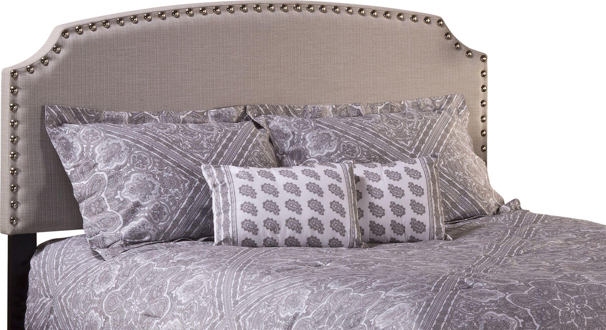Krisron Gray Twin Upholstered Headboard