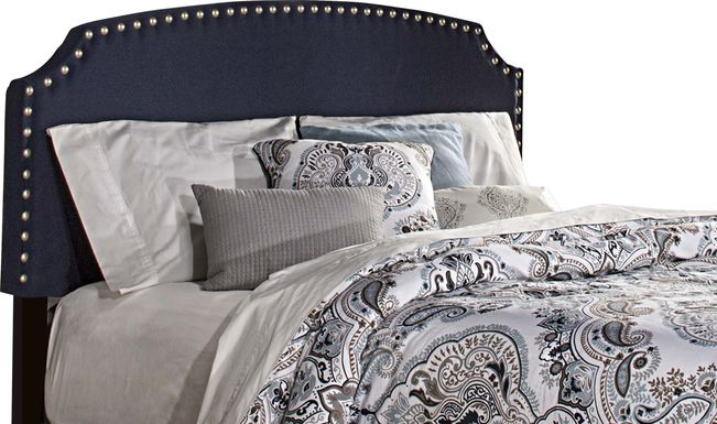 Krisron Navy Full Upholstered Headboard