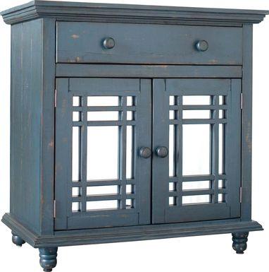 Kristansand Blue Accent Cabinet