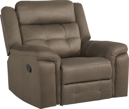 Kusel Brown Glider Recliner
