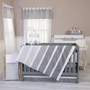 Kyan Gray 3 Pc Baby Bedding Set