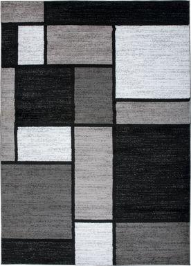 Kylan Gray 3'3 x 5' Rug