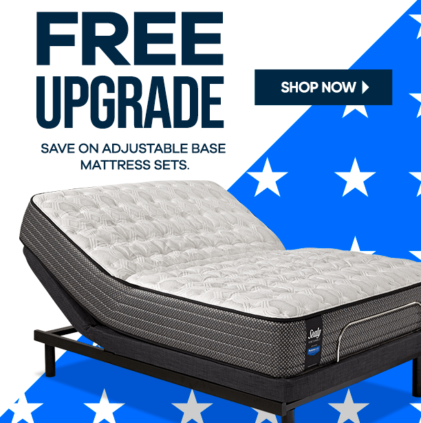 free upgrade. save on adjustable base mattress sets. shop now