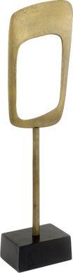 Labrant Gold Sculpture