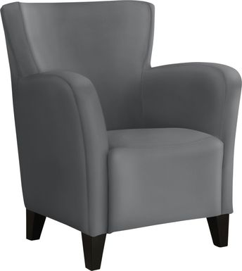 Lackland Gray Accent Chair