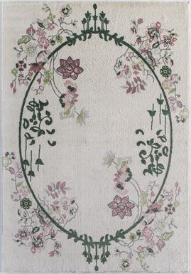 Ladinas Green 5' x 7' Rug