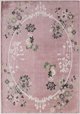 Ladinas Light Pink 5' x 7' Rug