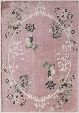 Ladinas Light Pink 8' x 10' Rug