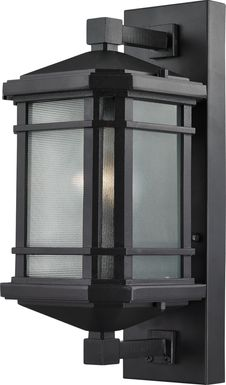 Lainsfaire Black Outdoor Wall Sconce