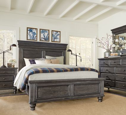 Lake Town Gray 5 Pc King Panel Bedroom