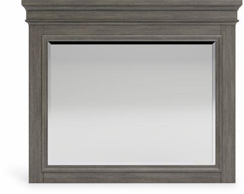 Lake Town Gray Mirror