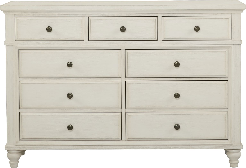 Lake Town Off-White Dresser
