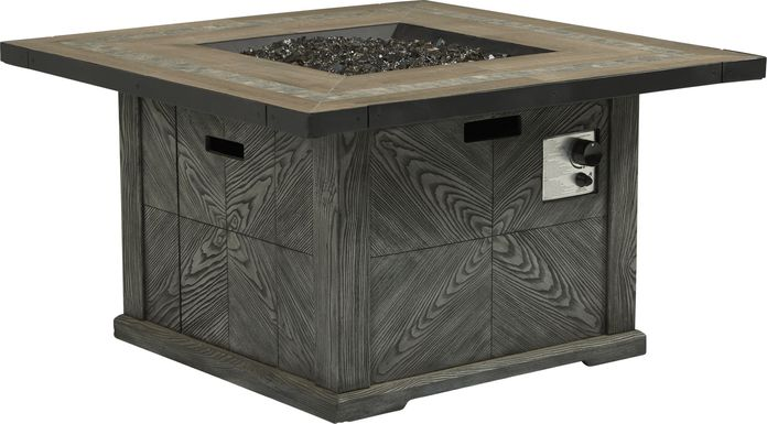 Lake Villa Gray Outdoor Fire Pit