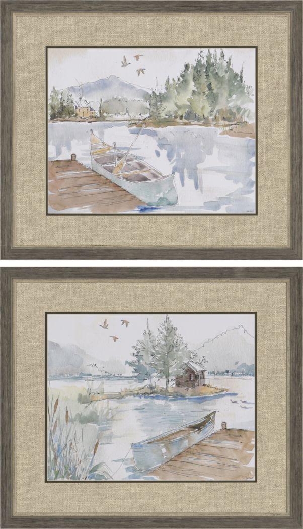 Lakeside Retreat Set of 2 Artwork