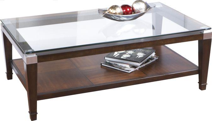 Laketon Walnut Cocktail Table