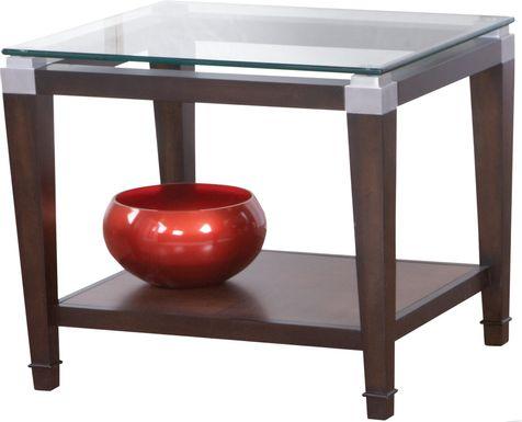 Laketon Walnut End Table