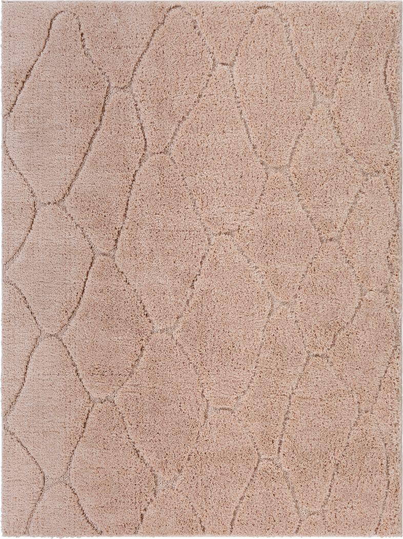 Lalisa Coral 6' x 7'9 Rug
