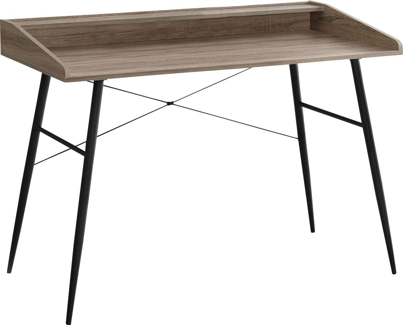 Lambright Dark Taupe Desk