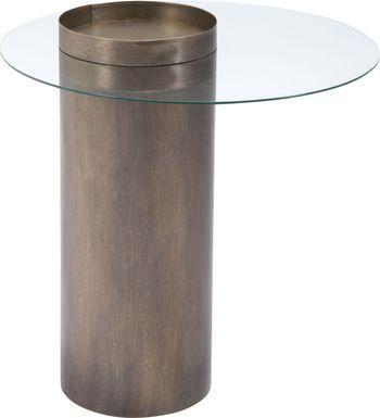 Lamington Gold End Table