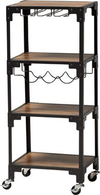 Lammer Black Bar Cart