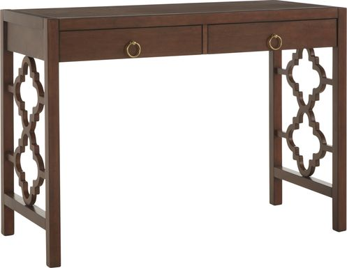 Lamport Brown Desk