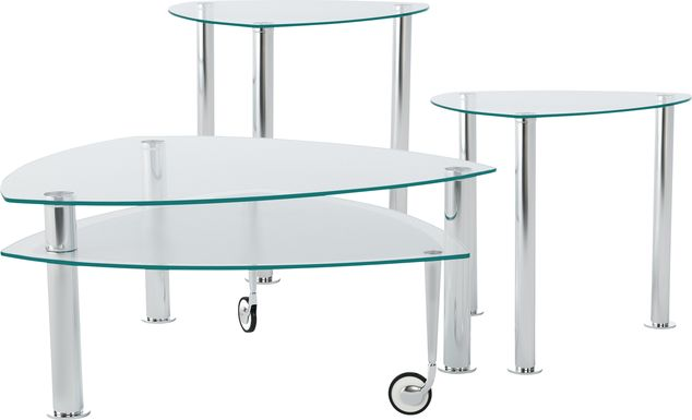 Landmark Metal 3 Pc Table Set