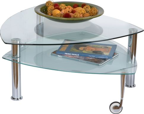 Landmark Metal Cocktail Table